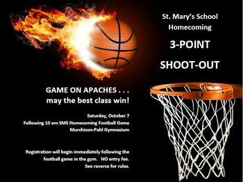 Homecoming Tailgate and 3 Point Shootout