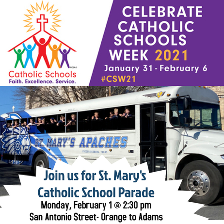 Click for more Catholic Schools week fun!