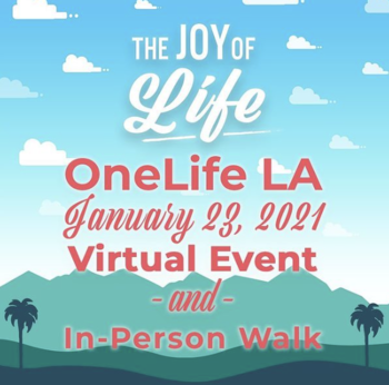 Register Now For OneLife - The Joy Of Life