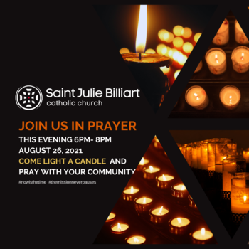 Adoration and Prayer Night - Just added today. Join us in prayer.