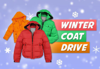 Coat Drive to support Open Arms Shelter, White Plains, NY