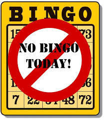 Monday Night BINGO is suspended until further notice