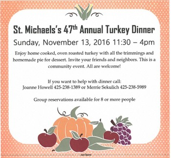 47th Annual Turkey Dinner