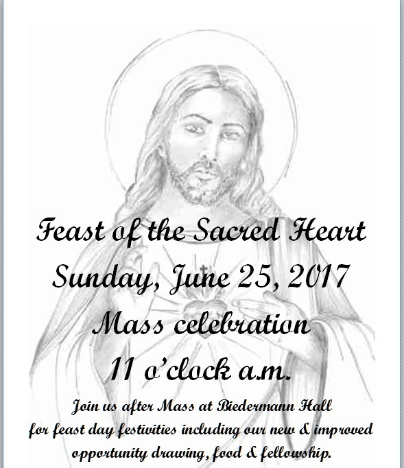 Feast Of The Sacred Heart Of Jesus Sacred Heart Church