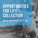 2nd Collection for Opportunities for Life 1/16 & 17/21