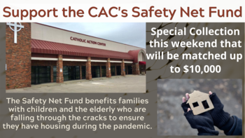 $10,000 Challenge Grant to Support CAC's Safety Net Fund