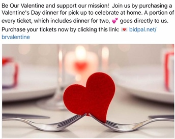 Valentines Diners to Support Birthright