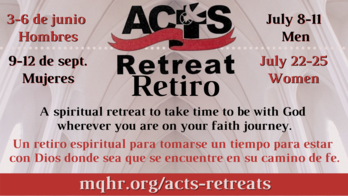 ACTS Retreat Dates for 2021