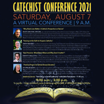 Diocesan Catechist Conference Will Convene Aug. 7 via Zoom