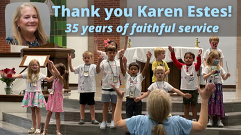 Karen Estes,  faith formation director, retires after 35 years of service to Mary Queen