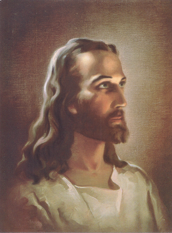 Face of Christ artwork