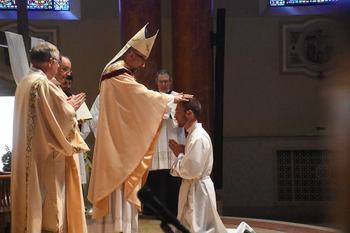 Michigan tech Alum Dustin Larson Ordained
