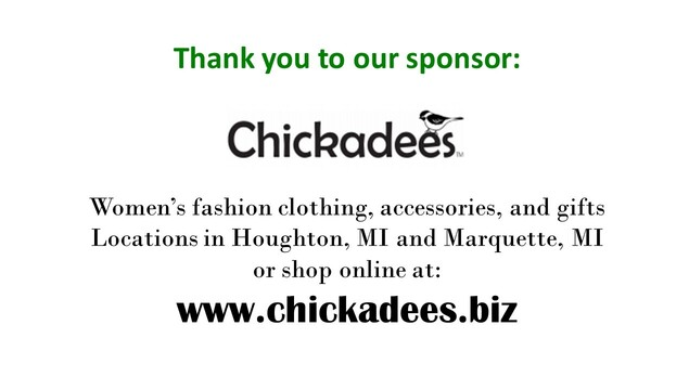 Thank you to sponsors Chickadees for supporting the Pi Day Gala!