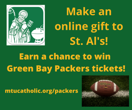 Make a gift. Win Green Packers Tickets