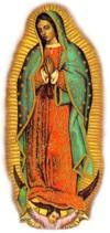 Missionary Image of Our Lady of Guadalupe with Speaker