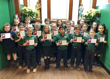 Grade 2 Students Featured in The Star-Ledger for First Reconciliation