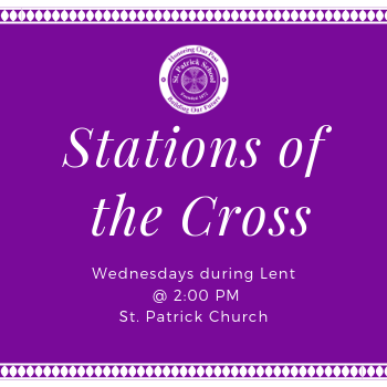 Join us for Stations of the Cross During Lent