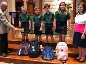 St. Patrick School Welcomes Students Back