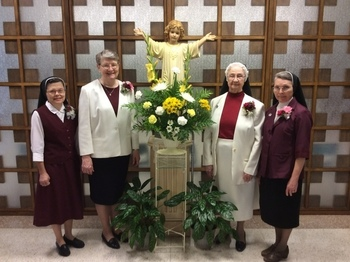 Sisters Celebrate 25, 50, or 75 Year Anniversaries