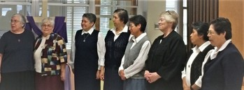 Incarnate Word and Blessed Sacrament Sisters Uniting