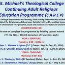 St. Michael's Theological College - Register for Courses