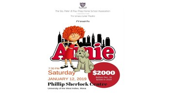 Sts. peter & Paul Prep. Home School Association Presents 'Annie""