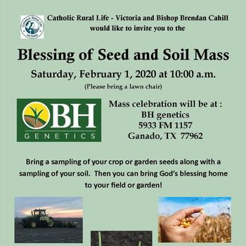 Blessing of Seed and Soil Mass