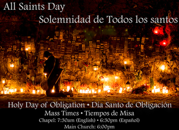 All Saints Day - Todos los Santos