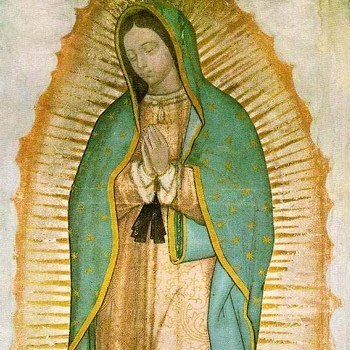 La Peregrina, a pilgrim image of the Virgin of Guadalupe