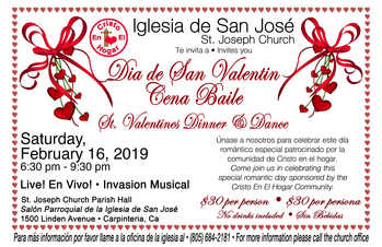 St. Valentines Dinner and Dance