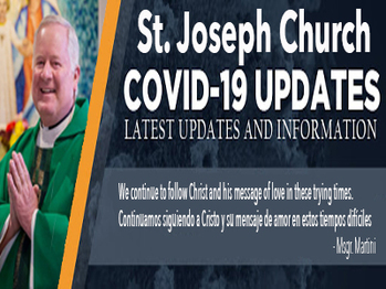 Message from Msgr. Martini regarding Covid-19 Possible Exposure