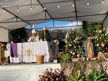 Mass of the Feast of Our Lady of Guadalupe, honoring the Virgin Mary