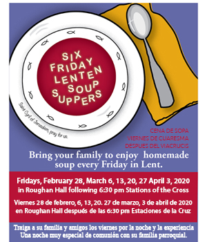 Stations of the Cross and Soup Supper