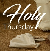 Holy Thursday / Jueves Santo • April 9