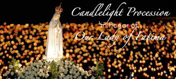 Our Lady of Fatima Candle Light Procession