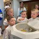 Four Honey Children Baptized into the Church at St. Philip