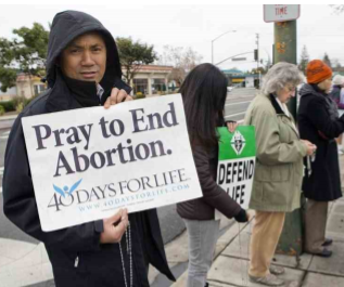 40 Days for Life Prayer Vigil