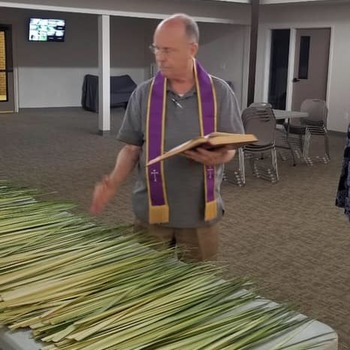 Blessing and Distribution of Palms
