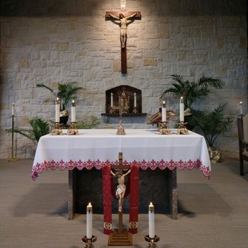 A Message from Father Barker - The Presence of the Blessed Sacrament on Good Friday