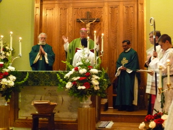 Bishop McManus Celebrates the Feast of St. Anne