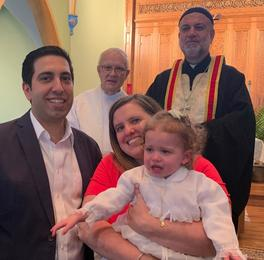 Congratulations Ella Chammas on your Baptism!