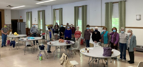 The Prayer Shawl Ministry celebrates Father Albert's Silver Jubilee!