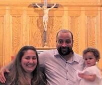 CONGRATULATIONS to Taylor Josephine Gomes on your Baptism!