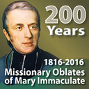 Anniversary of the Missionary Oblates of Mary Immaculate