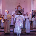 Footage from the Arrival of the Panagia Vimatarissa