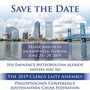 2019 Metropolis of Atlanta Clergy Laity Assembly Save the Date