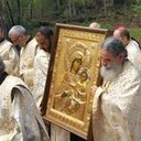Presentation of the Holy Panagia Vimatarissa Icon to the Panagia Chapel