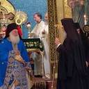 Sunday Divine Liturgy celebrated with Elder Efraim from Vatopaidi Monastery
