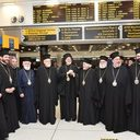 His Eminence Participates in Welcoming Archbishop Elpidophoros