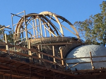 Construction Update: The Panagia Chapel